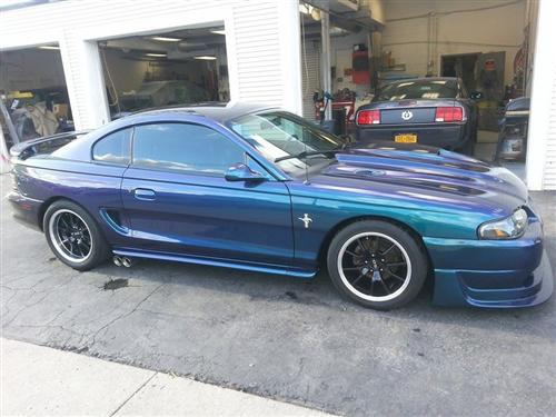 Matt Kapsiak's 95 ford mustang