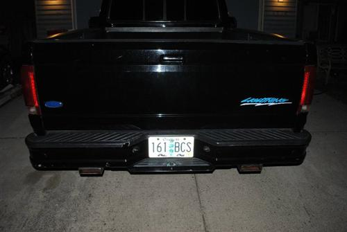 matt montes' 94 ford lighting