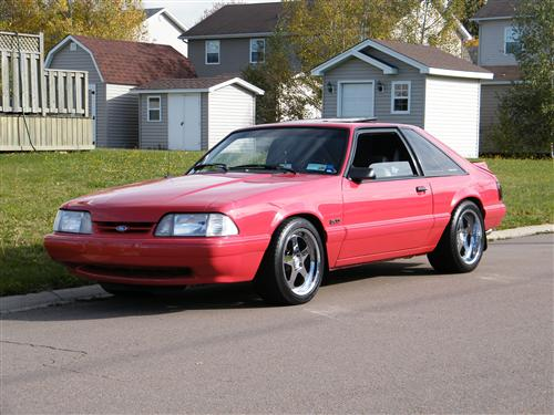 Maxime Sonier's 1992 Mustang LX 5.0