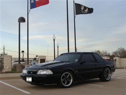 Michael  Turner's 1990 Ford Lx Coupe