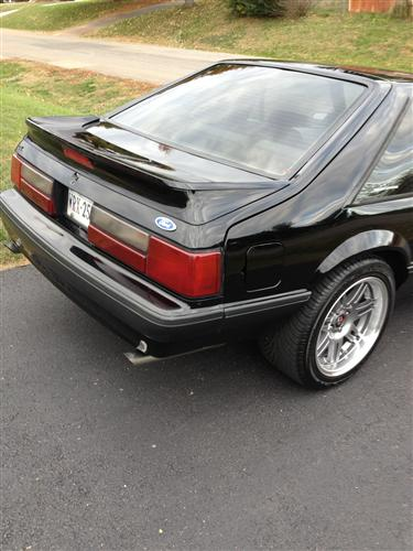 michael bland's 1991 ford mustang lx