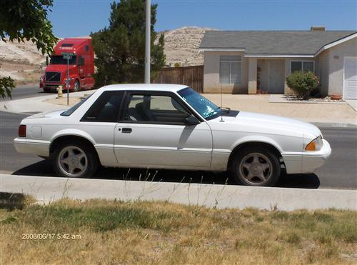Michael Conrad's 1992 Ford LX Coupe