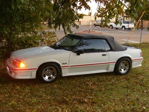 Michael Whittle's 1988 Ford  Mustang