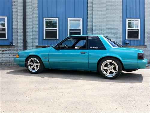 mick  graf's 1992 ford mustang lx