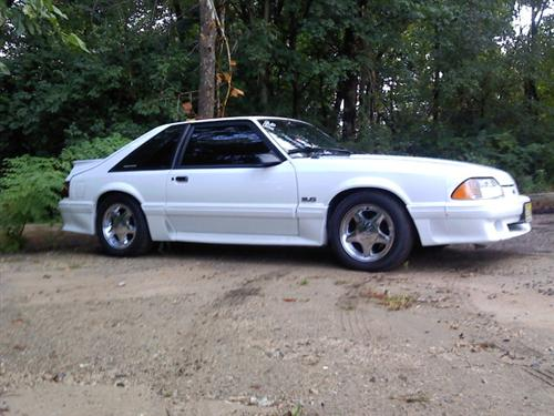 mike  crane's 1991 ford mustang gt