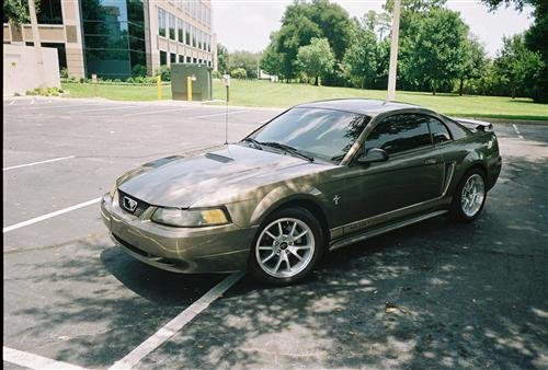 Mike  Ellis' 2002 Ford Mustang