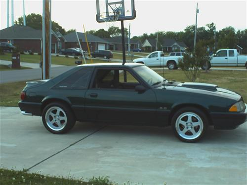 1991 FORD MUSTANG - MIKE DEES's 1991 FORD MUSTANG