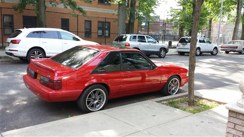 mike ferrulli's 1992 ford mustang