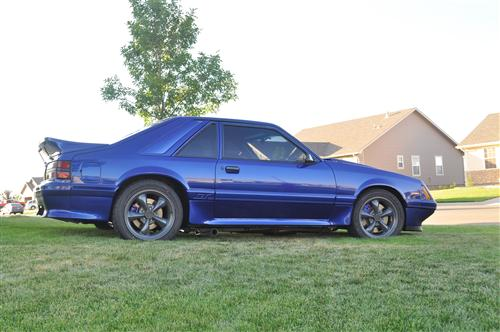 1986 Ford Mustang - Mike Mahan's 1986 Ford Mustang