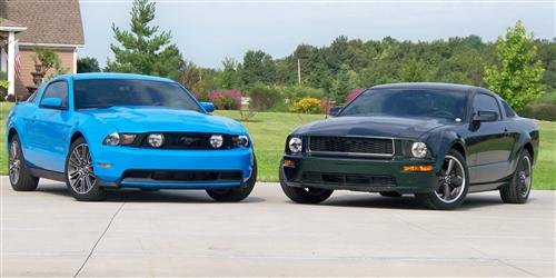 2008 and 2010 Ford Bullitt and GT - Mike Stahl's 2008 and 2010 Ford Bullitt and GT
