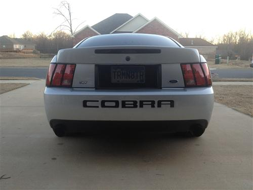 Mitch Sweeney's 2003 Ford Mustang svt cobra
