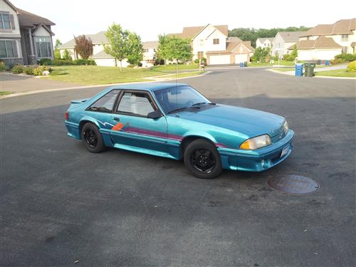 Mitch Windt's 1988 Ford Mustang GT