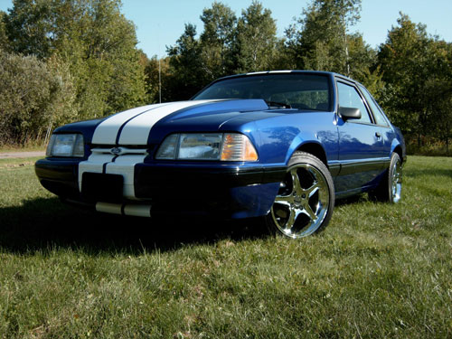 Nathan Latawiec's 1989 Ford Mustang Notchback
