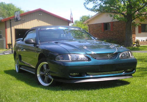 Nicholas Cox's 1994 Ford Mustang GT