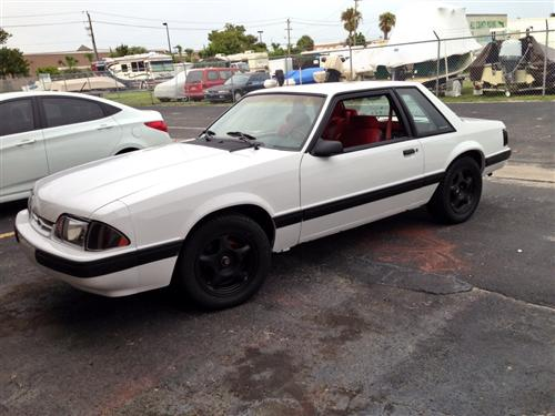 1991 Ford  Mustang Notchback  - Nicholas Rivera's 1991 Ford  Mustang Notchback