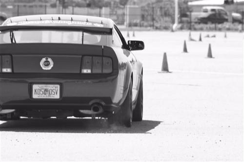 Nick Brand's 2008  Ford Mustang GT