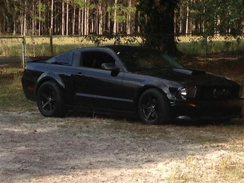 nick foskey's 2007 mustang gt/cs