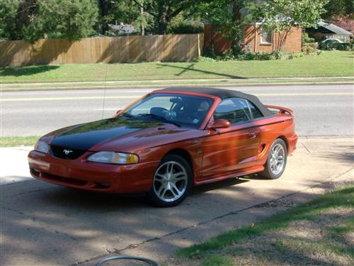 Nick Strong's 94 and 02 Ford Mustang GT