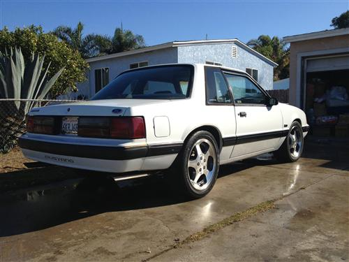 Oscar  Soto's 1989  Ford Mustang