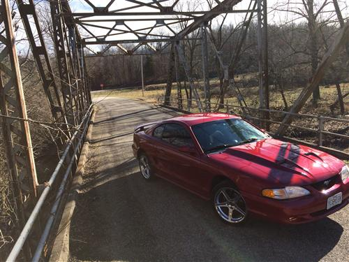 Patrick  Jeffers' 1995 Ford Mustang Gt