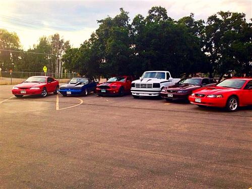 Paul  Krueger's 91,94,95,97,02,13 Mustangs & Lightning Fox body
