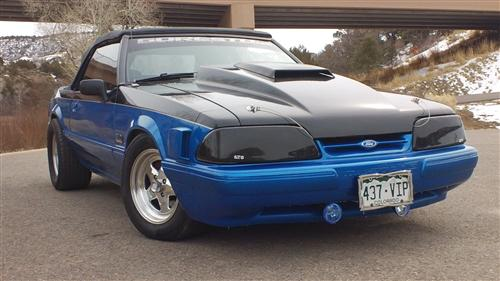 Paul Krueger's 1991 ford mustang
