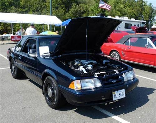 Paul Morgan's 1990 Ford Mustang SSP ret. Federal Government