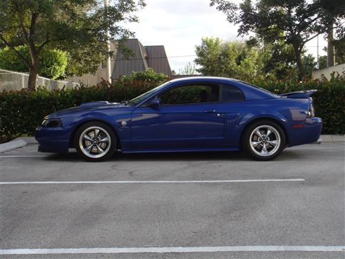 Pedro Espinola Jr's 2004 Ford  Mustang GT Sonic Blue