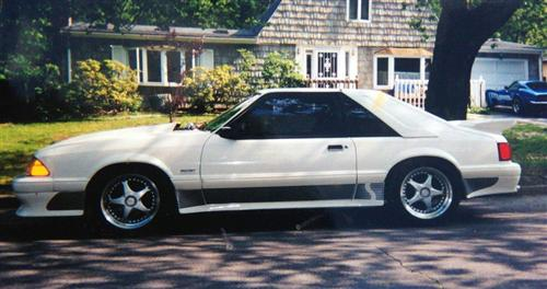 1993 Ford Saleen Mustang - Phil Monsegur's 1993 Ford Saleen Mustang