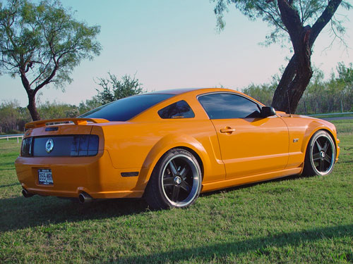 RJ Jones' 2007 Ford Mustang GT