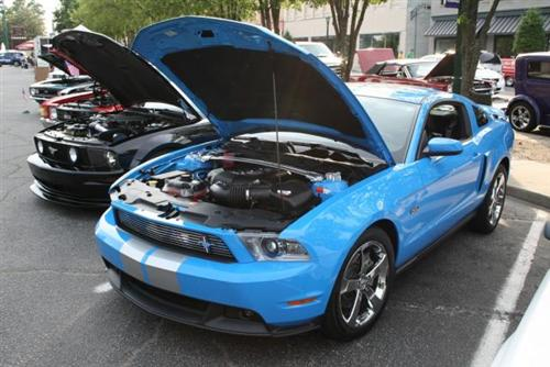 RANDY  MATHEWS's 2011 FORD MUSTANG GT/CS