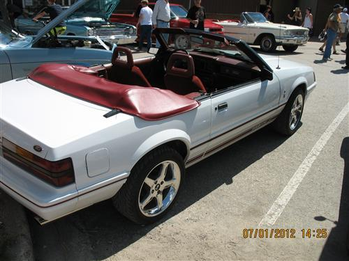 Randy Balaz's 1984 1/2 Ford 20th Anniversary Convertible