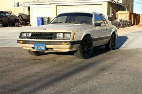 1982 Ford Mustang - Rashad Johnson's 1982 Ford Mustang