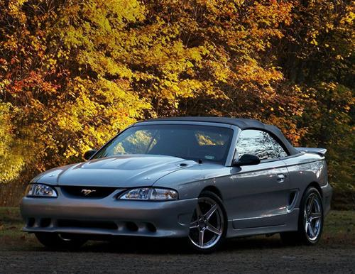 rich graswald's 1995 ford mustang gt
