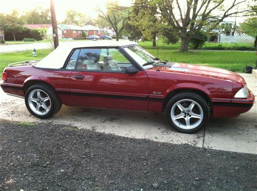 Rick Settles' 1987 Ford  Mustang LX 5.8