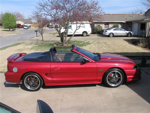 Robert Bishop's 1998 Ford GT Convertible