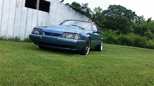 Robert camp's 1990 ford mustang