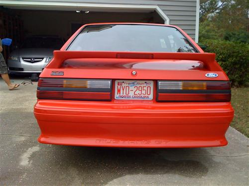 Robert Stonebraker III's 1991 Ford Mustang Gt( 2nd Car)