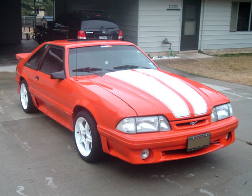 Robin Martinez's 1988 Ford Mustang GT