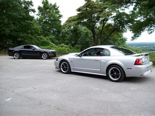 ronnie bridges jr's 2004  ford mustang gt