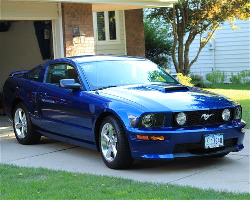 Rusty  Daniels' 2007 Ford  Mustang GT/CS