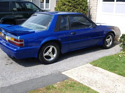 Sean Crosland 's 1986 Ford Mustang