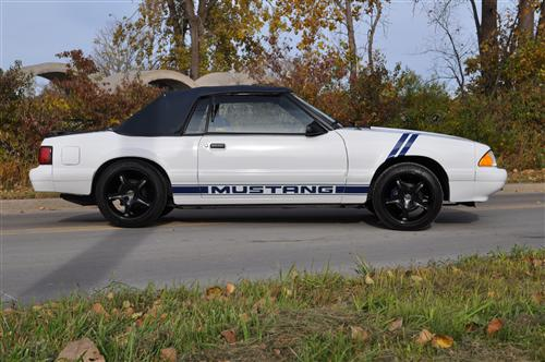 Shane Guthrie's 1987 Ford Mustang