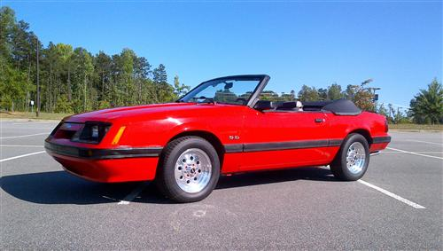 Shane Hill's 1986 Ford Mustang LX 5.0