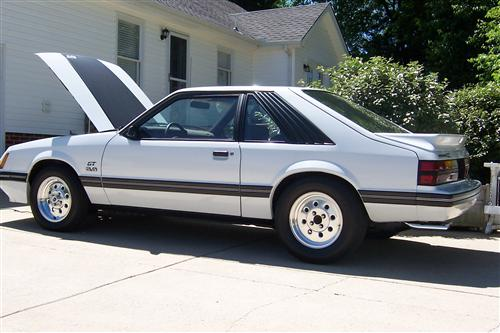 stephen sanford's 1984 ford mustang gt