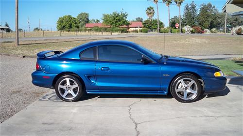 Ted Brooks' 1998 Mustang GT