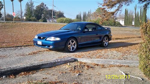 Ted Brooks' 1998 Ford Mustang