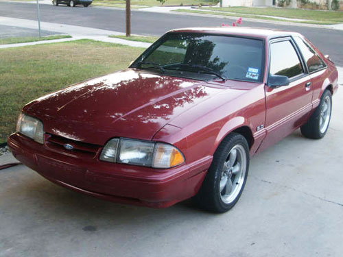 Thomas Wakley's 1991 Ford Mustang LX