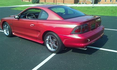 tim johnson's 1996 ford mustang gt