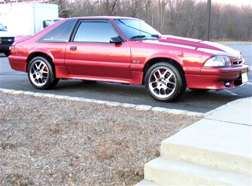 Tim Nelson's 1990 mustang 5.0 lx